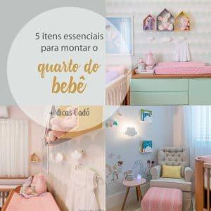5 itens essenciais no quarto do bebê