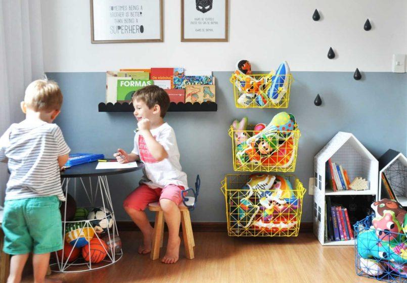 Imagem destaque da postagem sobre cantinho de estudos no quarto infantil.