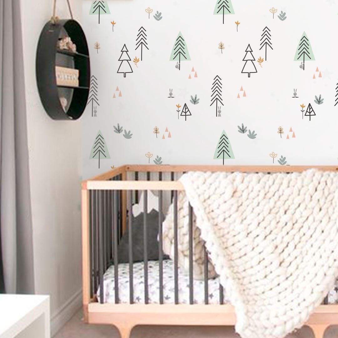 Exemplo de decoração para quarto do bebê