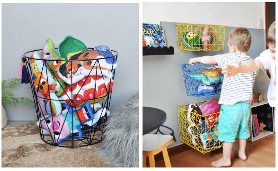 Guarda-brinquedos para quarto infantil