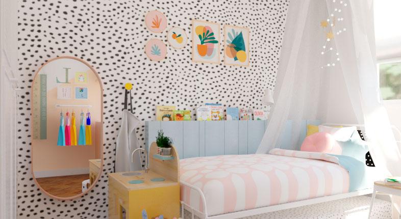 Papel de parede para quarto infantil: conheça diversos modelos com a Cadô!